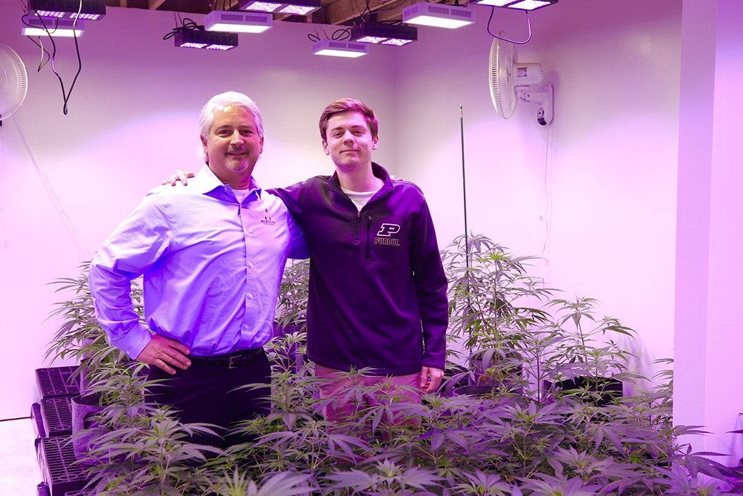A growing industry: Carmel's Agrozen helps local farmers navigate hemp production - Current in Carmel