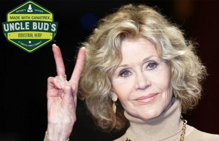 Academy Award-Winning Actress, Jane Fonda, Endorses Uncle Bud's Hemp CBD Products