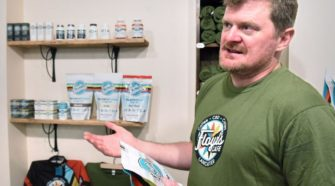 After partnering with local hemp growers, Floyd Landis launches Lancaster cafe featuring his CBD products - LancasterOnline