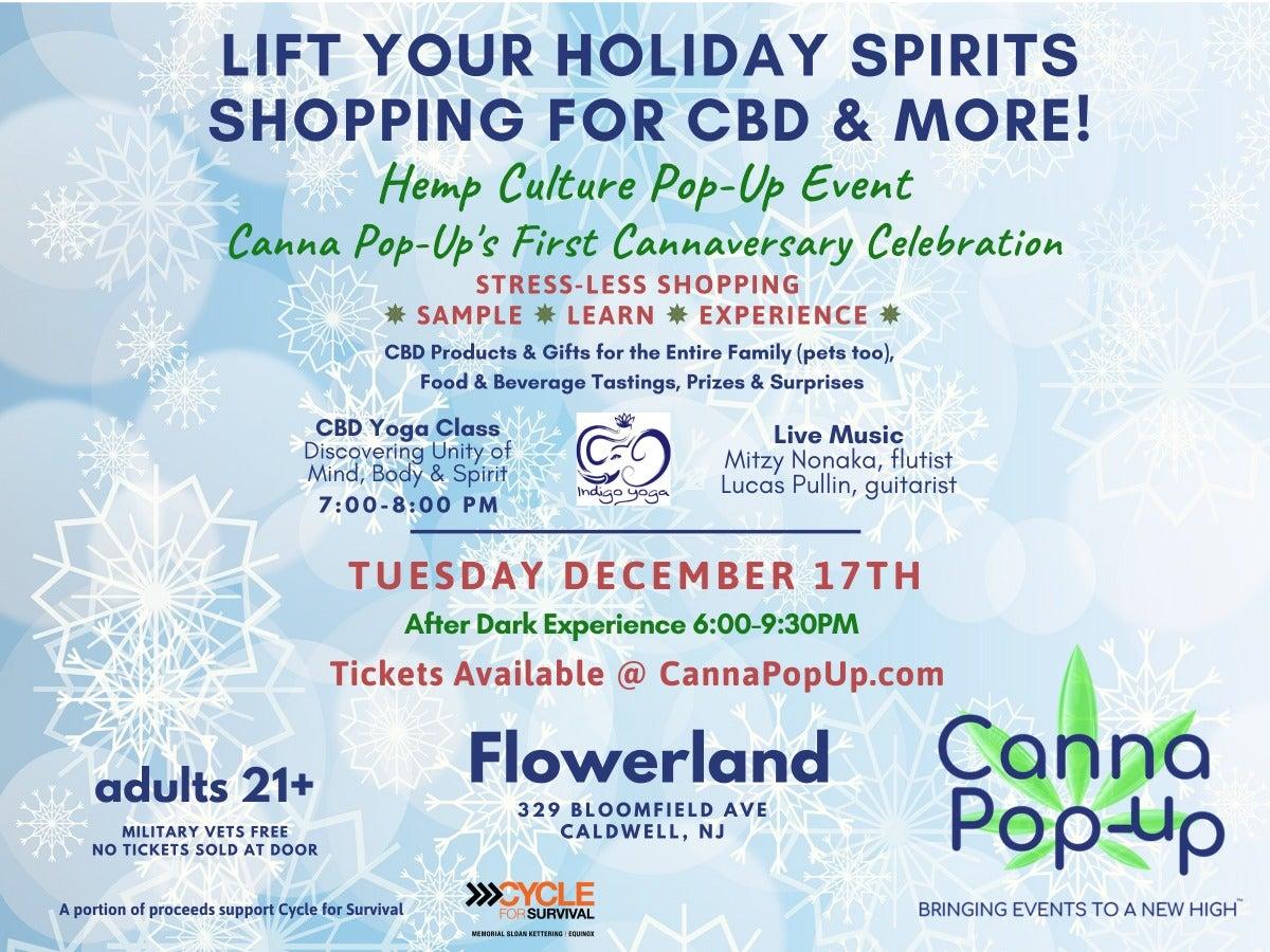 CBD & Hemp For Health and Wellness Holiday Shopping Event