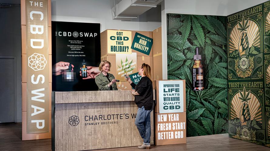 CBD brand Charlotte's Web launches swap program to educate about hemp farming