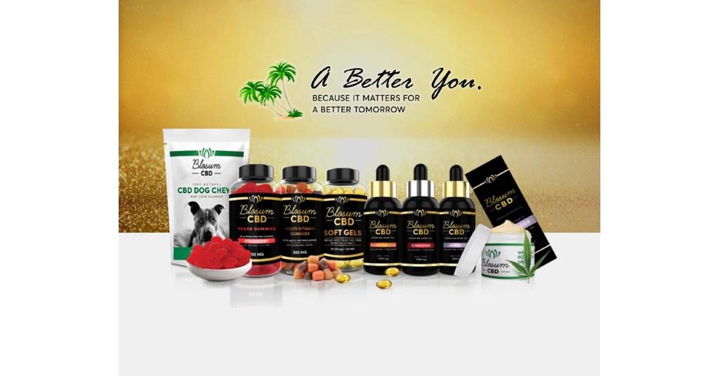 California Online Store Blosum CBD Launches Organic Hemp Oil - PRNewswire