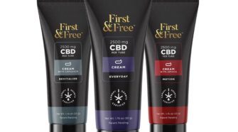 """Canopy Growth CBD Brand """"First & Free"""" Adds Topicals to Product Portfolio"""