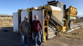 Colorado farmers invent a new way to harvest hemp - The Grand Junction Daily Sentinel