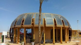 Construction of an eco-building that combines hemp and solar technology completed in Morocco - Construction Review