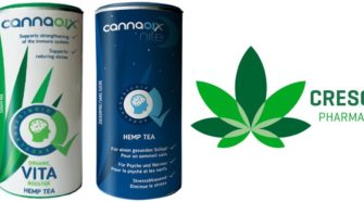 Creso Pharma CBD hemp tea