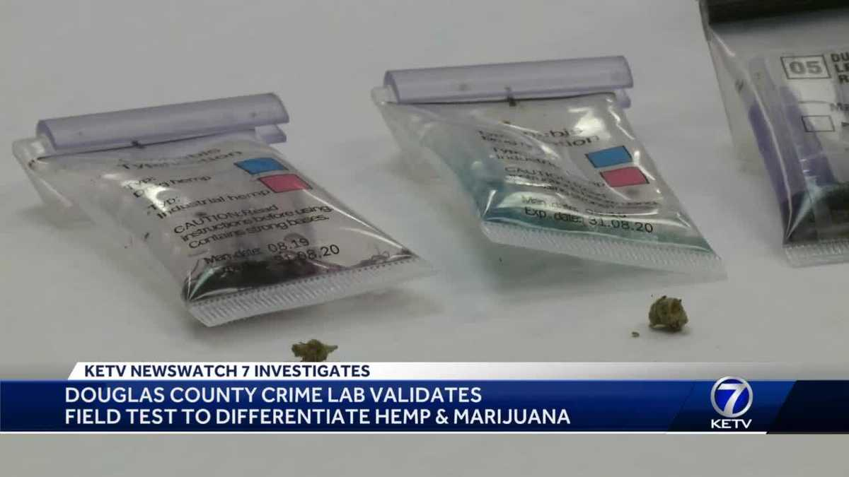 Douglas County Crime Lab validates field test to differentiate hemp and marijuana - KETV Omaha