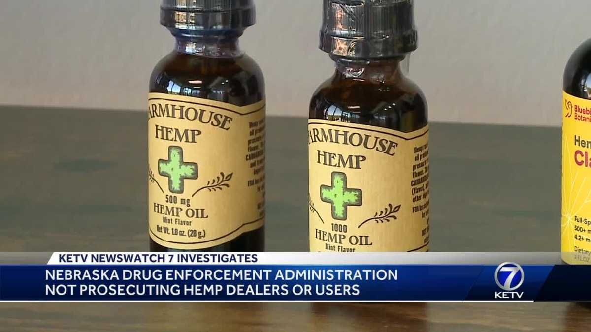 EXCLUSIVE: Omaha division of the Drug Enforcement Administration says it is not prosecuting CBD, hemp sellers or dealers - KETV Omaha