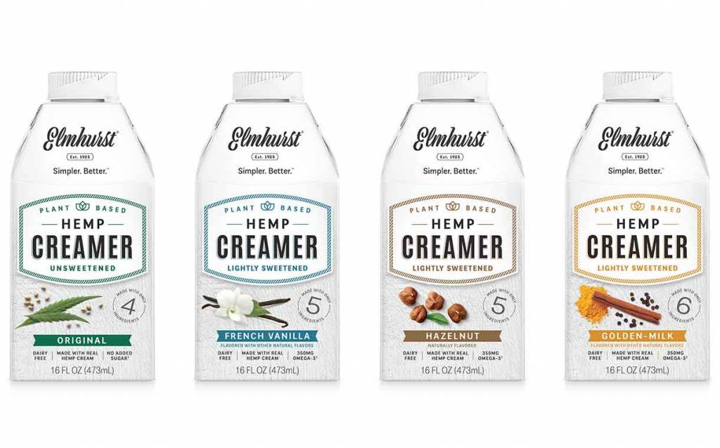 Elmhurst adds to hemp creamer range with three new flavours - FoodBev.com