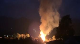Fire destroys hemp barn near Medford - Mail Tribune