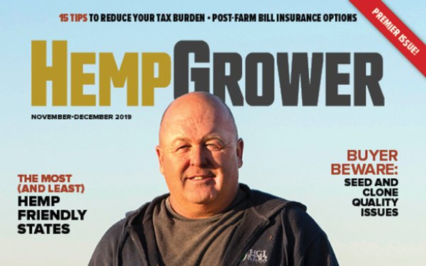 GIE Media Debuts 'Hemp Grower' Magazine For Farmers 11/26/2019 - MediaPost Communications