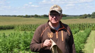 Gov. Walz dons 'chief hemp inspector' title, boosts budding industry - Farm Forum