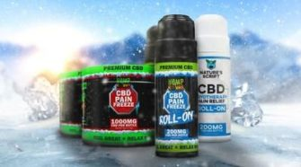 Hemp Bombs 1000mg CBD Pain Pain Freeze, Hemp Bombs 200mg CBD Pain Freeze Roll-On, Nature's Script 200mg CBD Cryotherapy Pain Relief Roll-On