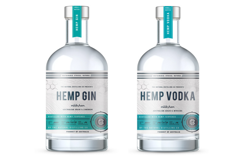 Hemp-based spirits: Australian craft distillery launches gin and vodka products - FoodNavigator-Asia.com