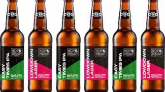 Hop & Hemp Brewing Co debuts CBD-infused, low-ABV craft beers - FoodBev.com