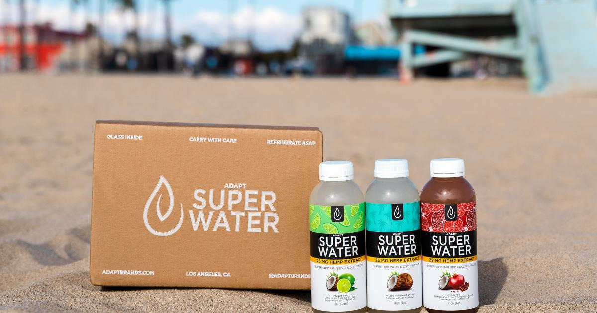 Joe Montana Hypes Up Adapt Brands' New Hemp-Infused Coconut Water - Benzinga