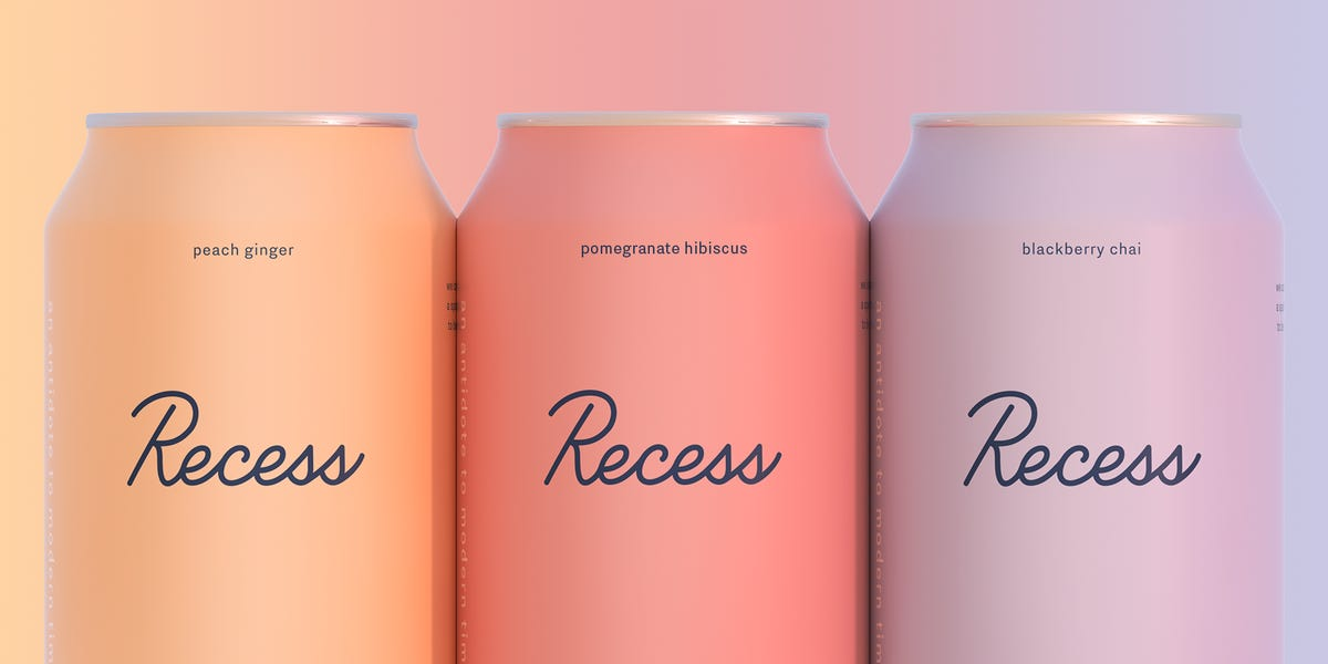 Meet Recess: The sparkling, millennial, CBD beverage in a pastel can - Business Insider
