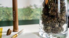 A jar of hemp at Stigma Hemp in Minneapolis.