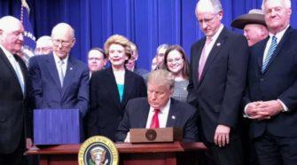 Trump Signs Farm Bill Legalizing Hemp