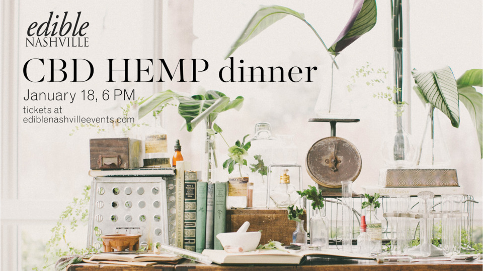 Upcoming Dinner to Showcase CBD and Hemp Products - Nashville Scene